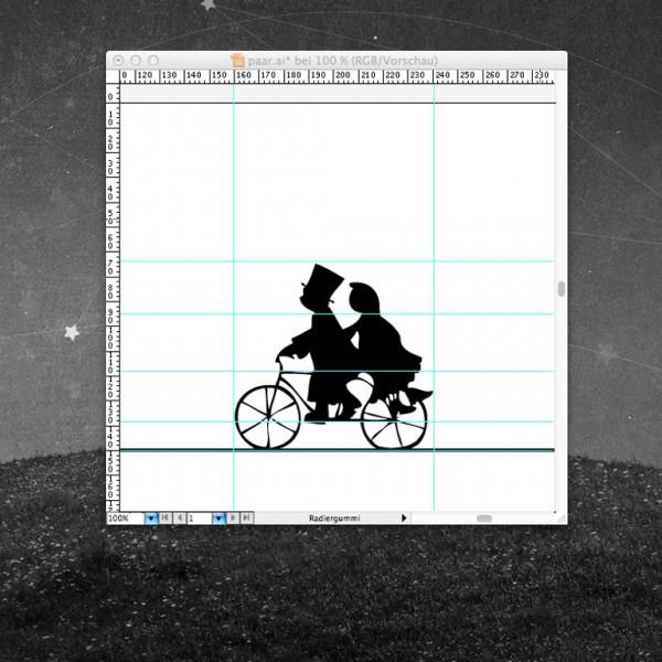 Thumbnail for Pärchen auf dem Rad